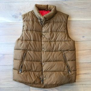 Gap Primaloft Men's Vest S Camel Brown